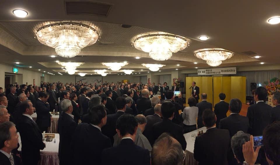 原田義昭環境大臣就任披露祝会