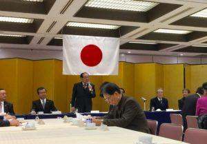 美しい日本の憲法をつくる福岡県民の会に参加しました。
